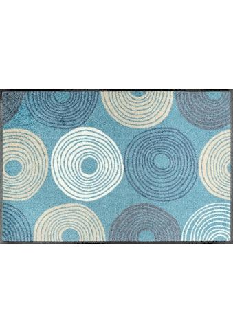 wash+dry by Kleen-Tex Fussmatte »Cyclone«, rechteckig, 7 mm Höhe, Fussabstreifer,... kaufen