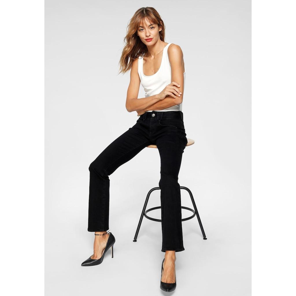 Herrlicher Gerade Jeans »JAYDEN«, mit leichtem Push-Up-Effekt