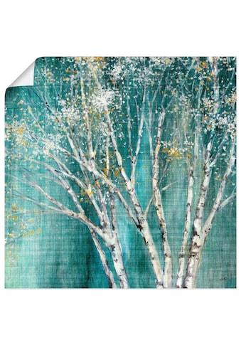 Artland Wandbild »Blaue Birke«, Bäume, (1 St.), in vielen Grössen & Produktarten... kaufen