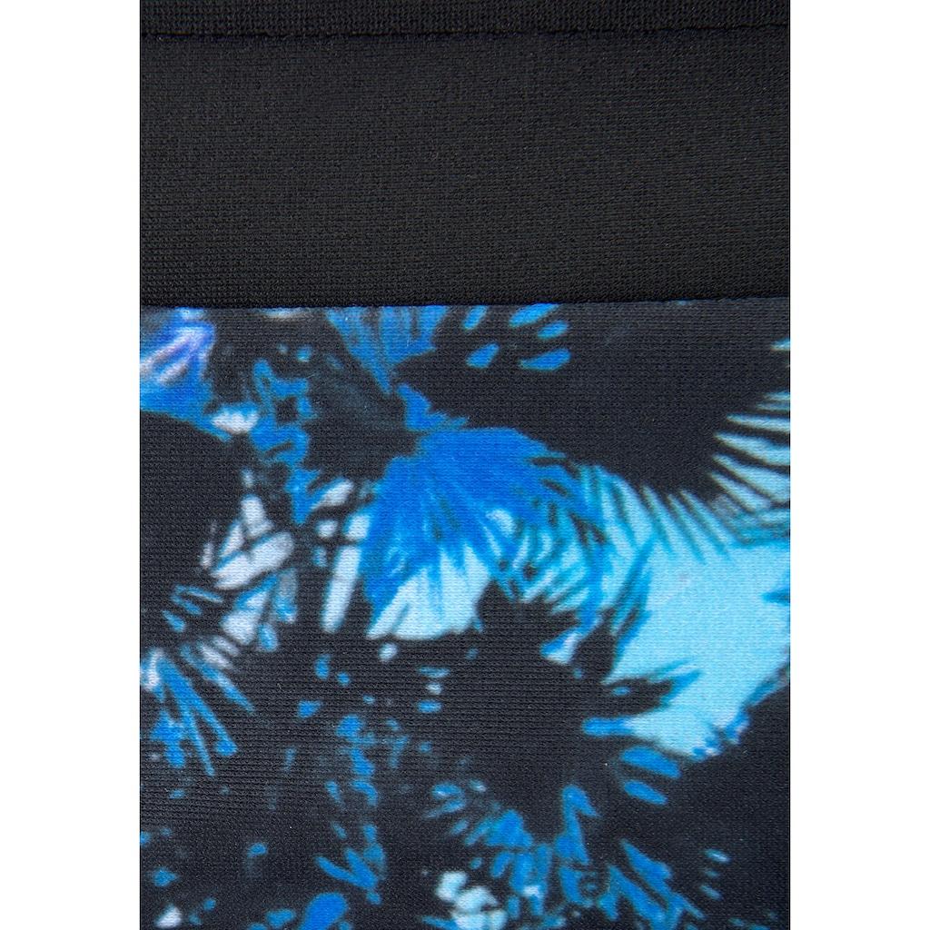 Sunseeker Bustier-Bikini, mit Palmendruck