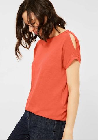 Cecil Rundhalsshirt, mit elastischem Rumpfbund kaufen