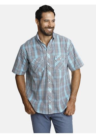 Jan Vanderstorm Kurzarmhemd »GERBURG«, aus luftigem Seersucker kaufen