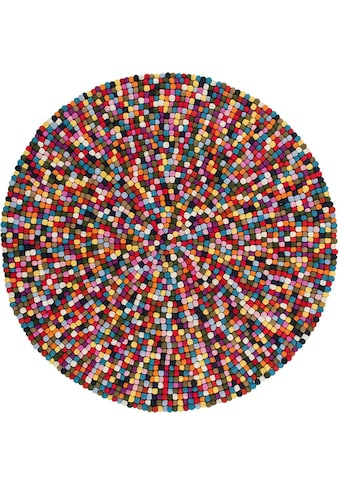 Wollteppich, »My Passion 730«, Obsession, rund, Höhe 30 mm kaufen