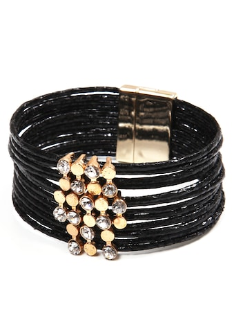 COLLEZIONE ALESSANDRO Armband »A2822-F01«, mit Glassteinen kaufen