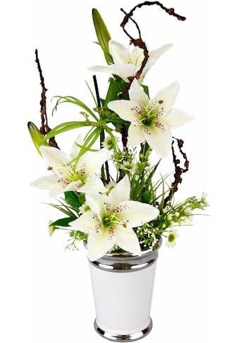 Home affaire Kunstpflanze »Lilien« kaufen