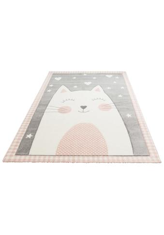 Lüttenhütt Kinderteppich »Lunis«, rechteckig, 13 mm Höhe, Pastellfarben kaufen