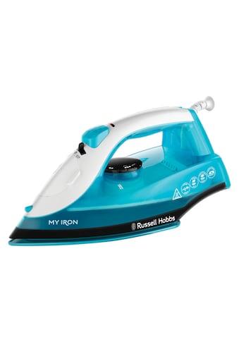 RUSSELL HOBBS Dampfbügeleisen »My Iron 25580-56 Blau/Weiss«, 1800 W kaufen