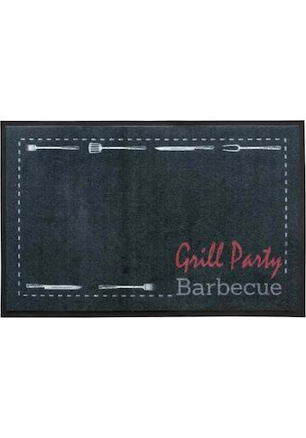 Primaflor-Ideen in Textil Fussmatte »BBQ Party«, rechteckig, 5 mm Höhe,... kaufen
