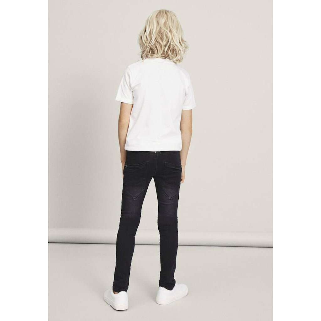 Name It Stretch-Jeans »NITCLAS XSL/XSL DNM PANT«, mit Teilungsnähten