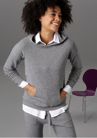 Aniston CASUAL Kapuzenpullover, mit Kängurutasche - NEUE KOLLEKTION kaufen