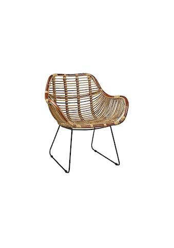Sessel »Rattan/Metall, Braun« kaufen