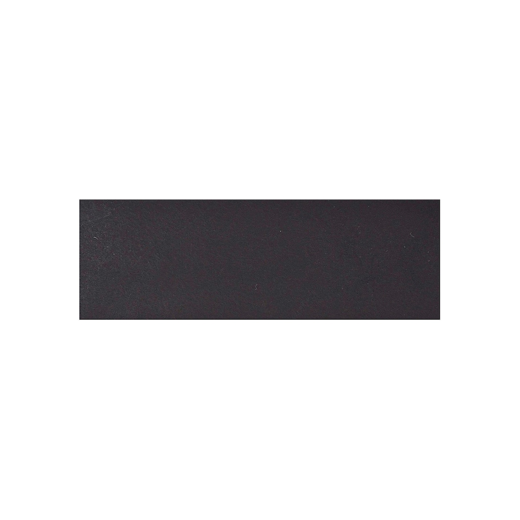 MUSTANG Ledergürtel, mit Logoprägung, Schriftzug aus der Gürtelspitze