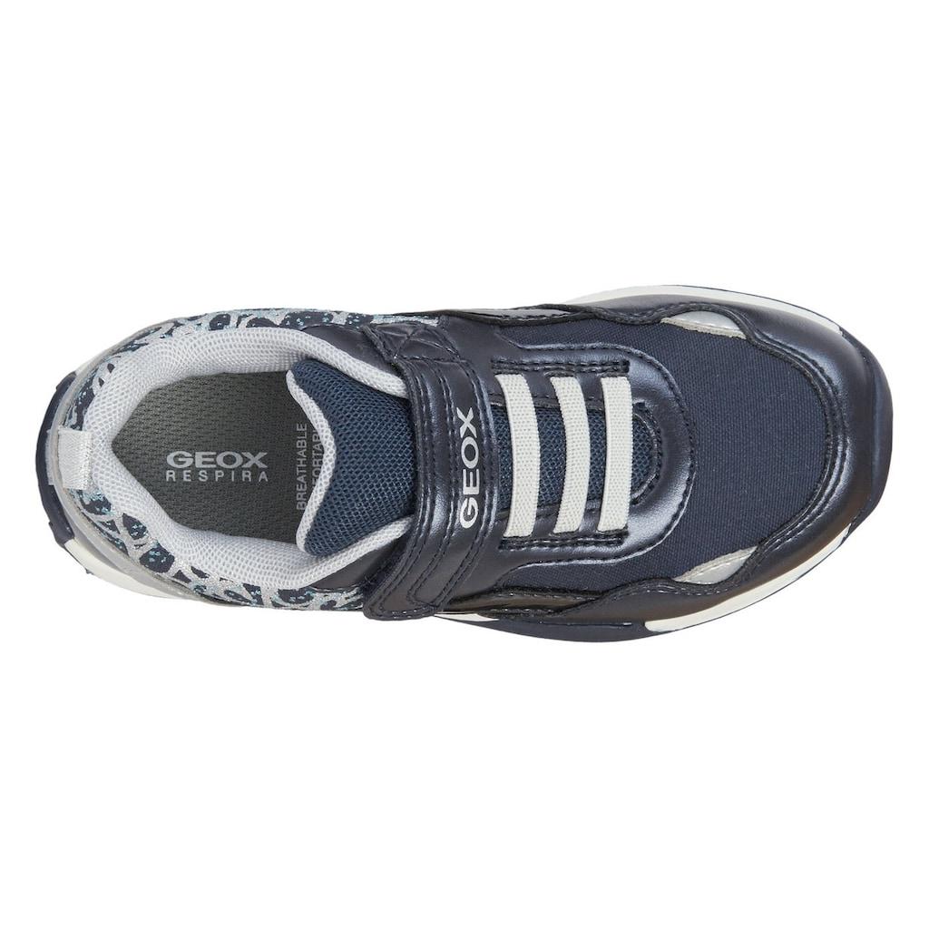 Geox Kids Sneaker »JOCKER PLUS GIRL«, mit hübschen Metallic-Details