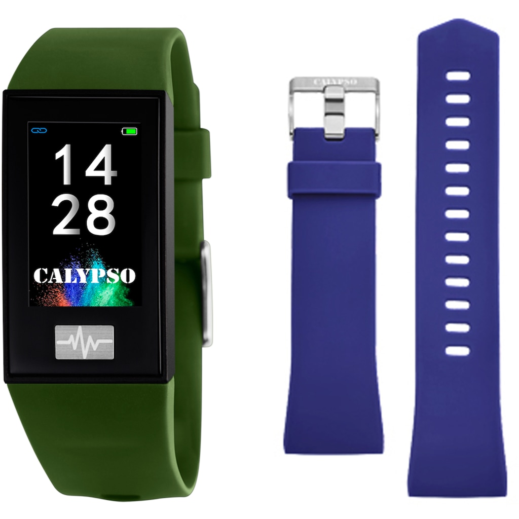 CALYPSO WATCHES Smartwatch »Smartime, K8500/8«, ( Mit Wechselband)
