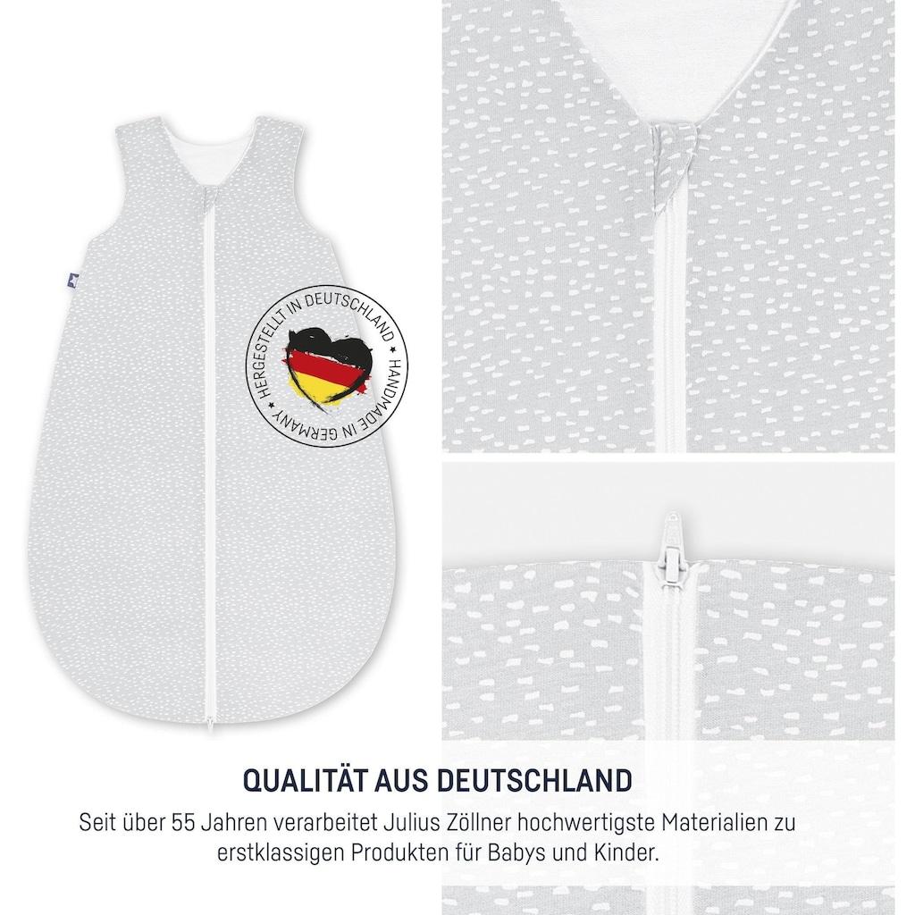 Julius Zöllner Babyschlafsack »Tiny Squares Grey«, (1 tlg.)