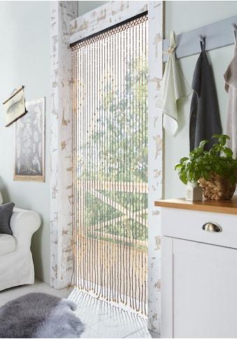 locker Türvorhang »Sevilla«, mit Kreisdekor, 90x200 cm kaufen