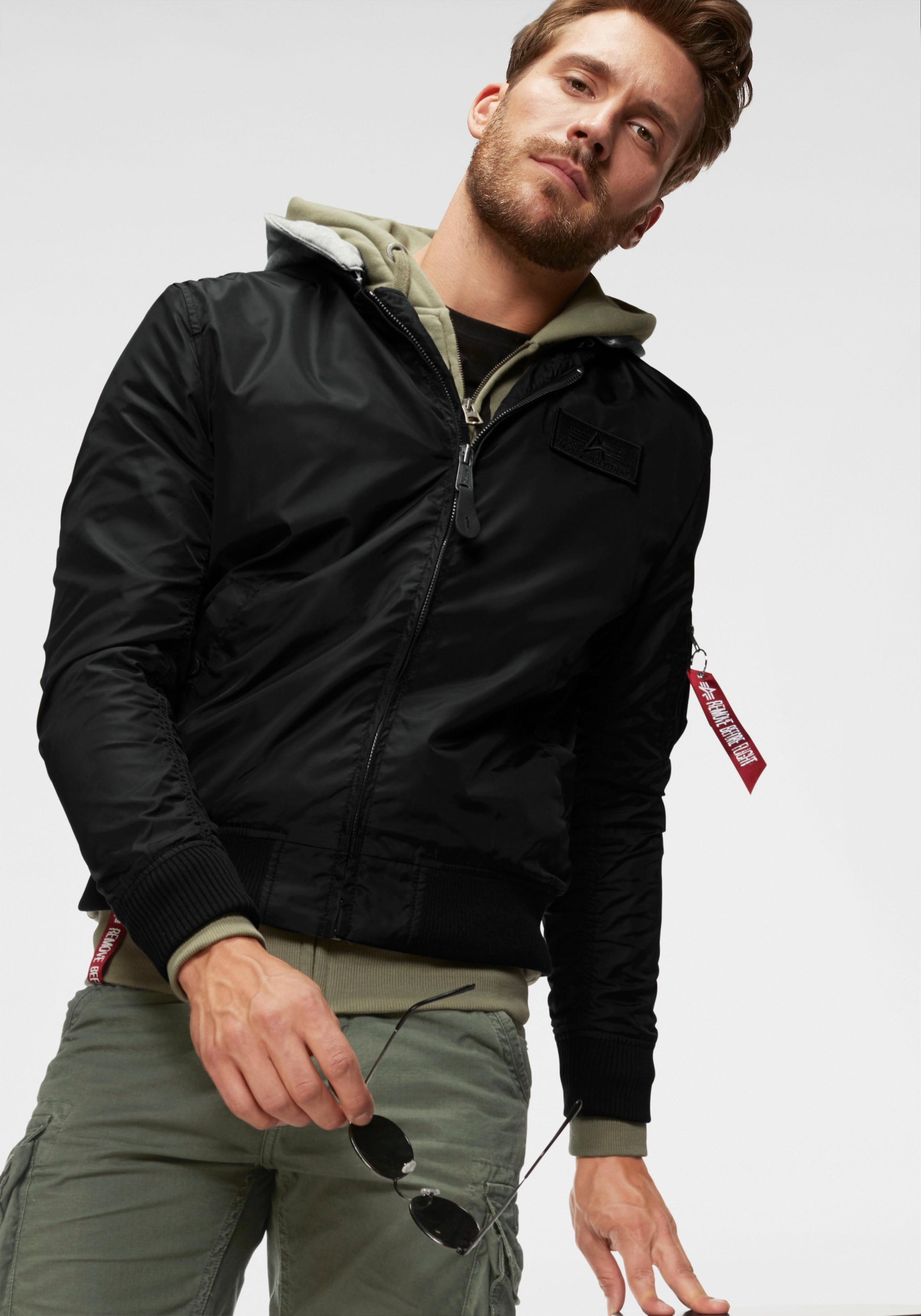Image of Alpha Industries Bomberjacke »MA-1 TT HOOD«
