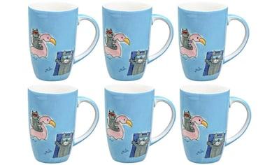 Mila Cappuccinotasse »Summer Cats 230 ml« kaufen