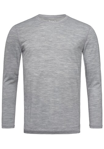 SUPER.NATURAL Longsleeve »M BASE LS 140«, feinster Merino-Materialmix kaufen