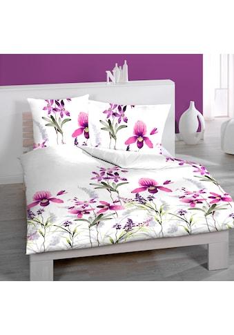 Satin - Bettwäsche  »Orchidee« kaufen