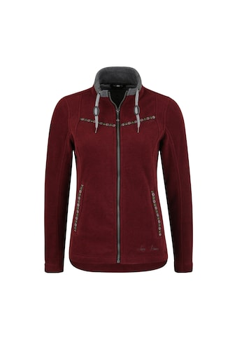 DEPROC Active Fleecejacke »SASKWOOD WOMEN«, weiche Fleecejacke in traditioneller Optik kaufen