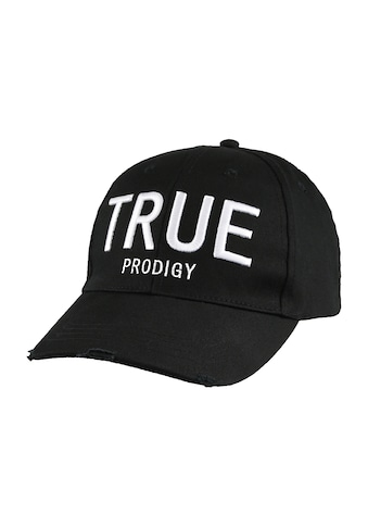 trueprodigy Baseball Cap »Dane black Cap«, mit Logostickerei und Destroy Effects kaufen