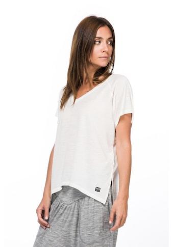 SUPER.NATURAL T-Shirt »W JONSER TEE«, geruchshemmender Merino-Materialmix kaufen