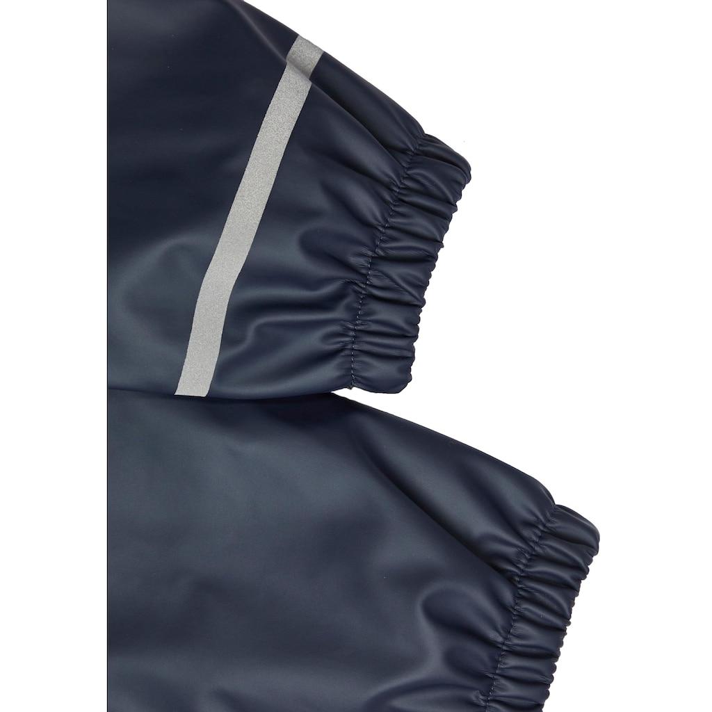 Name It Regenanzug »mit reflektierenden Streifen«, (Set, 2 tlg.)