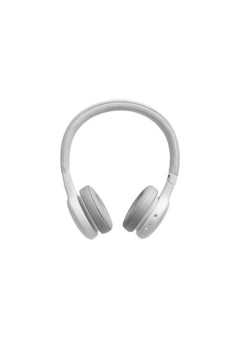 JBL On-Ear-Kopfhörer »LIVE 400BT Weiss«, Sprachsteuerung kaufen
