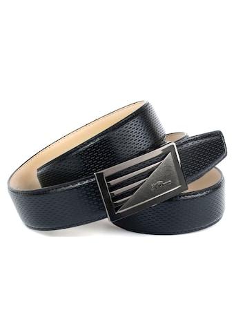 Anthoni Crown Ledergürtel, mit perforiertem Leder kaufen