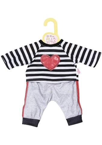 Zapf Creation® Puppenkleidung »Dolly Moda Sport-Outfit gestreift, 39-46 cm« kaufen
