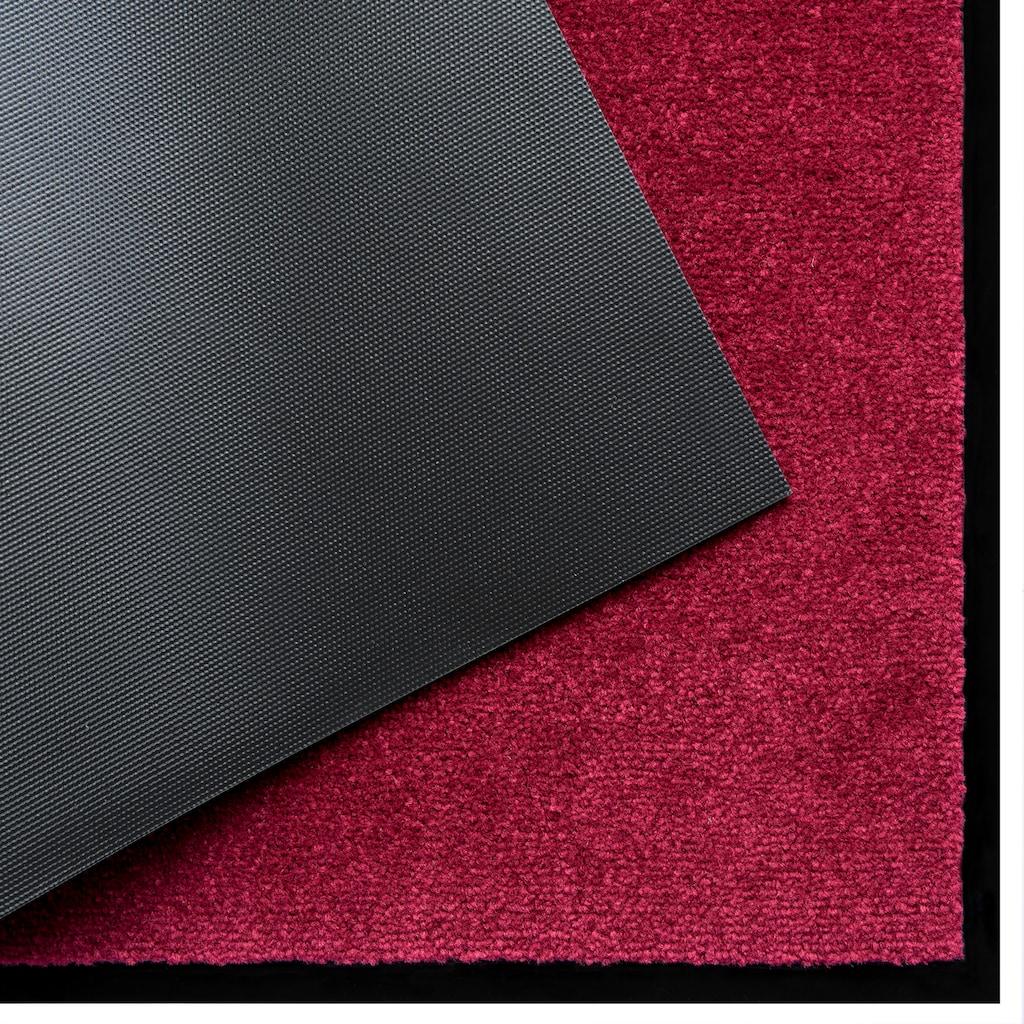 Home affaire Fussmatte »Triton«, rechteckig, 7 mm Höhe, Schmutzmatte, Schmutzfangmatte, In- und Outdoor geeignet, waschbar