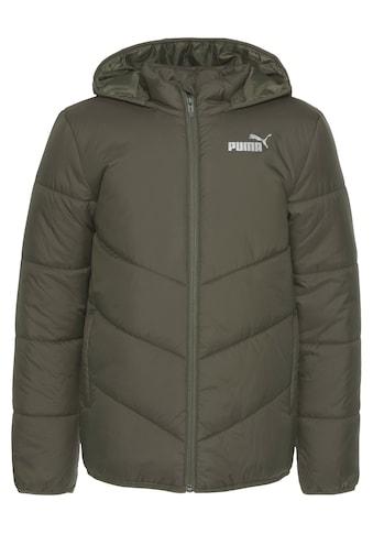 PUMA Steppjacke »ESS Padded Hooded Jacket« kaufen