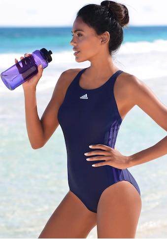 adidas Performance Badeanzug, mit seitlichen Streifen kaufen
