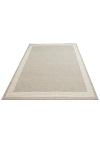 Home affaire Teppich »Taneja«, rechteckig, 10 mm Höhe, naturbelassenen Wolle, Wohnzimmer kaufen