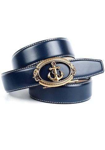 Anthoni Crown Ledergürtel, mit Anker-Schliesse kaufen