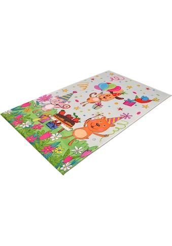 Böing Carpet Kinderteppich »Lovely Kids 418«, rechteckig, 6 mm Höhe, Motiv... kaufen