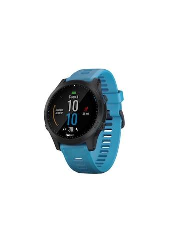 Garmin Smartwatch »Forerunner 945 Bundle Blau/Schwarz« ( kaufen