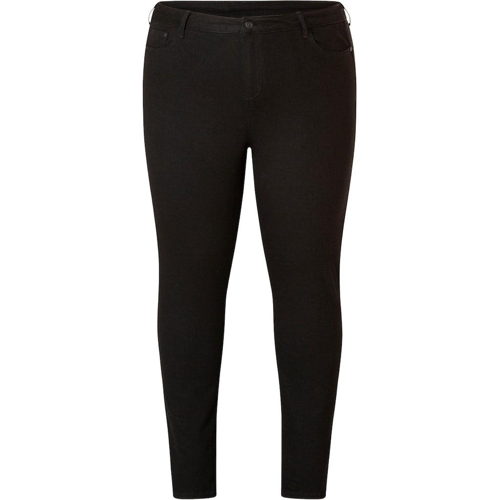 DNIM by Yesta Regular-fit-Jeans »Quinna«, Taillenhoch und schmal geschnitten