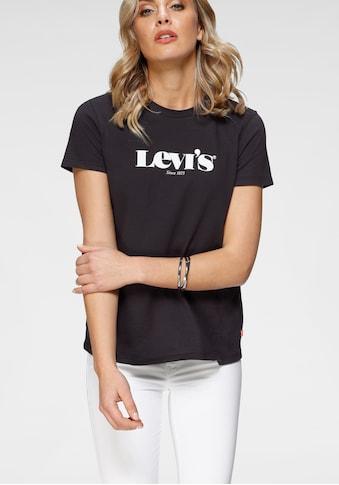 Levi's® Rundhalsshirt »The Perfect Tee«, mit Marken-Schriftzug auf der Brust kaufen