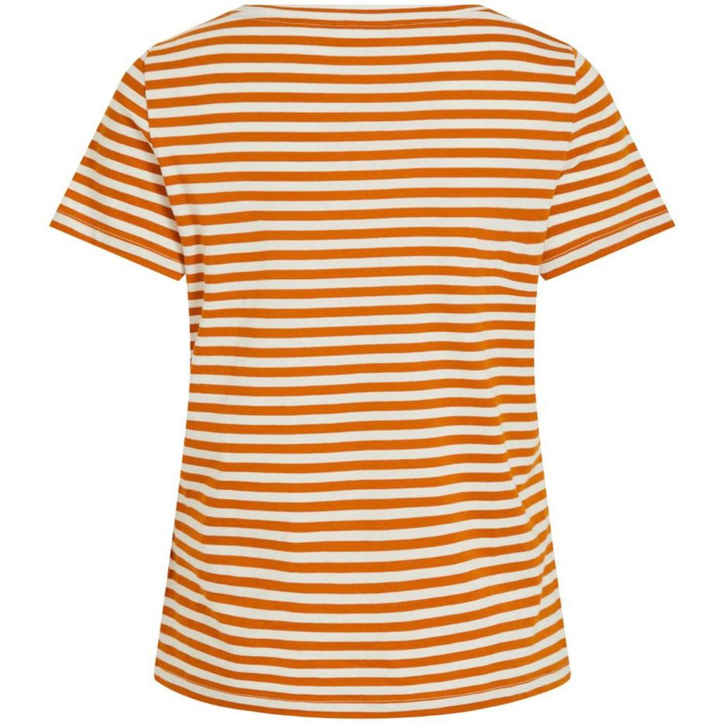 Vila T-Shirt »VISUS«, in Baumwolle