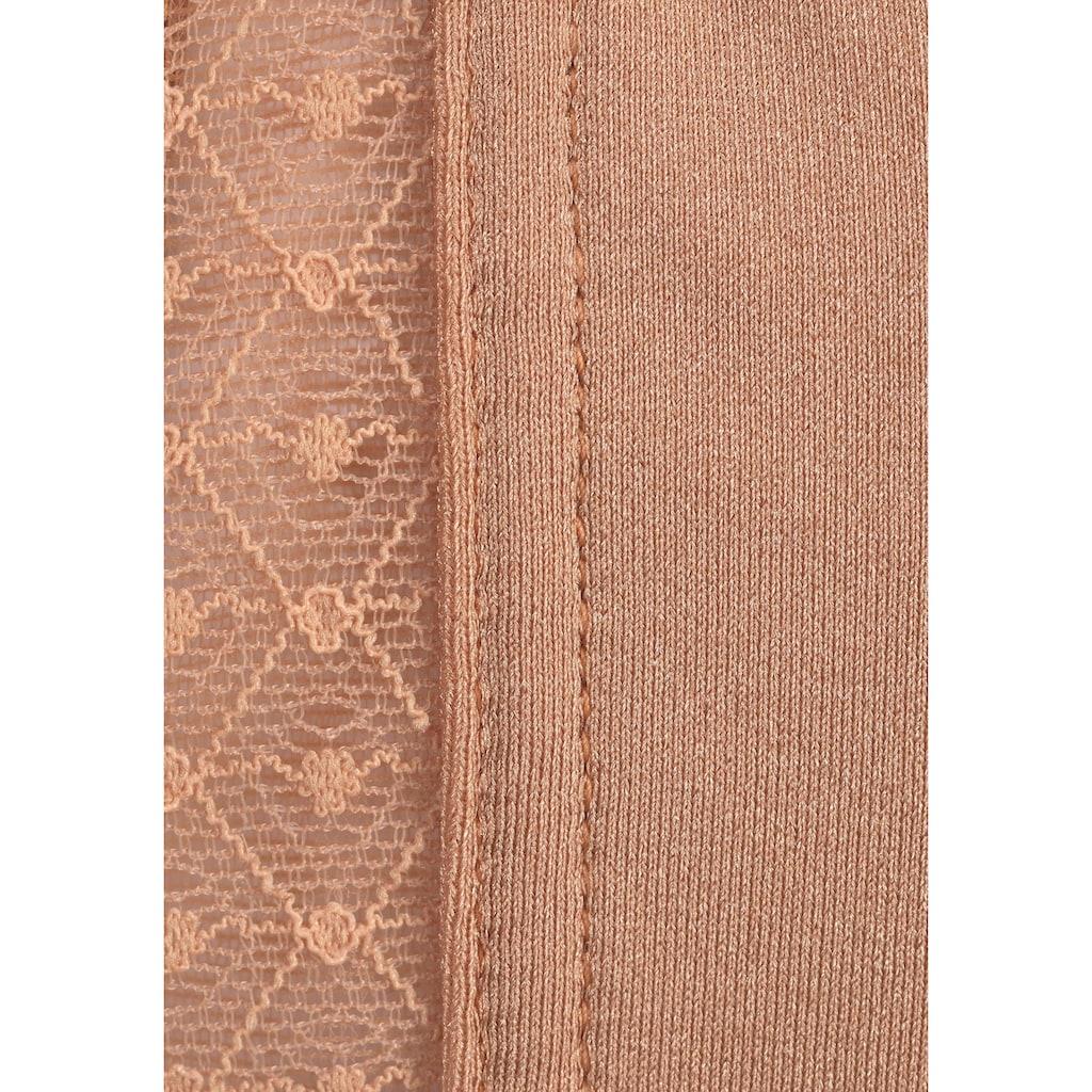 Nuance Schalen-BH, mit Bügel aus Spitze mit abnehmbaren, transparenten Trägern