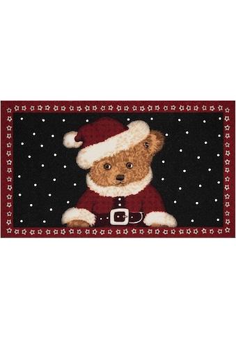 HANSE Home Fussmatte »Teddybear«, rechteckig, 7 mm Höhe, Schmutzfangmatte, In- und... kaufen