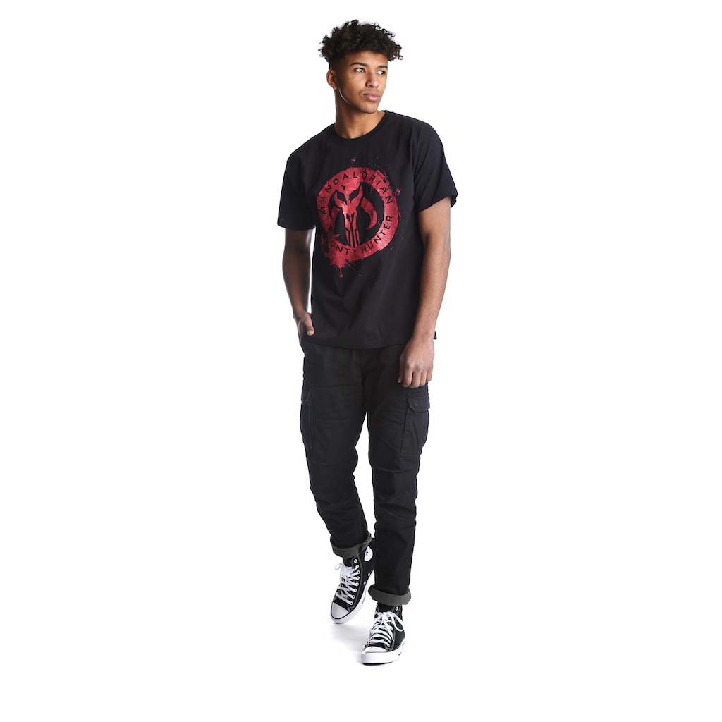 Star Wars T-Shirt »The Mandalorian Red«