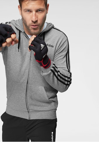 adidas Performance Kapuzensweatjacke »ESSENTIALS 3 STRIPES FULL ZIP FRENCH TERRY« kaufen
