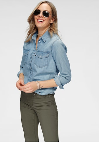 Levi's® Jeansbluse »ESSENTIAL WESTERN«, mit Brusttaschen mit Druckknöpfen kaufen