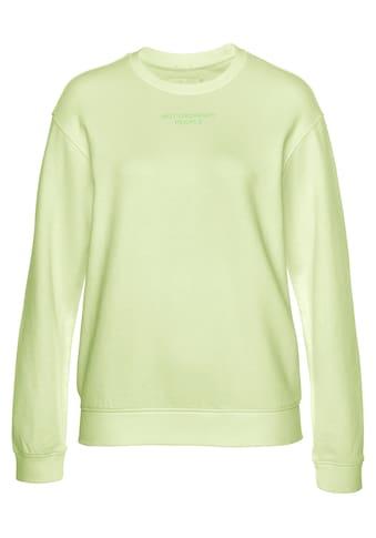 Replay Sweatshirt, lässiger Sweater mit grossem Logo Print auf der Rückseite kaufen