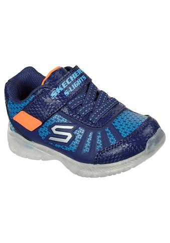 Skechers Kids Sneaker »Blinkschuh ILLUMI-BRIGHTS«, mit Klettverschluss kaufen
