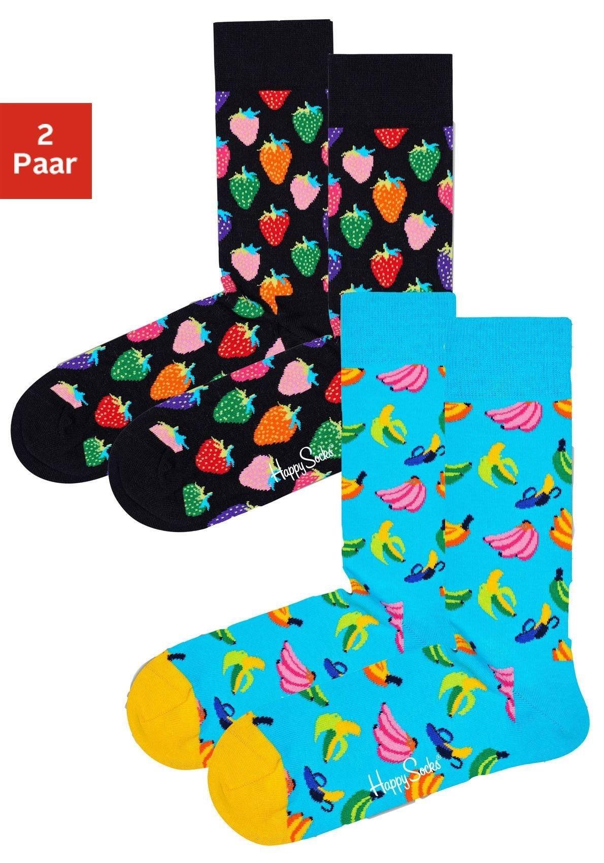 Image of Happy Socks Socken Fruits (2 Paar)