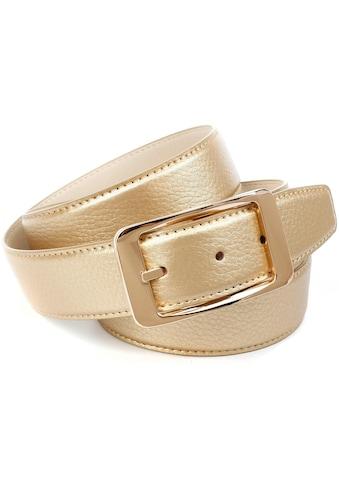 Anthoni Crown Ledergürtel, in glänzender Optik kaufen